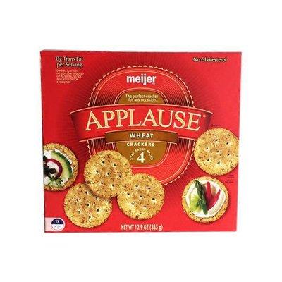 Meijer Applause Wheat Crackers