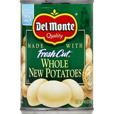 Del Monte Potatoes, New, Whole