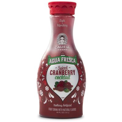 Califia Farms Seasonal Agua Fresca Cranberry Cocktail