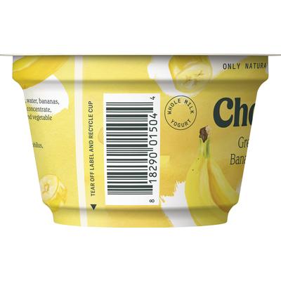 Chobani Yogurt, Banana & Cream, Greek