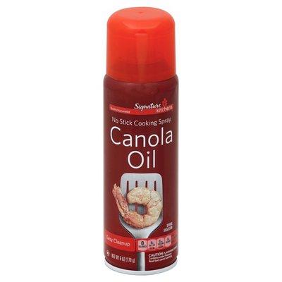 Signature Kitchens Cooking Spray, No Stick, Canola Oil