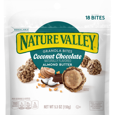 Nature Valley Granola Bites Toasted Coconut Chocolate