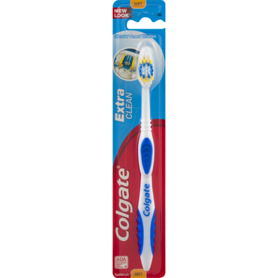 Colgate Extra Clean Circular Power Bristles Toothbrush Soft
