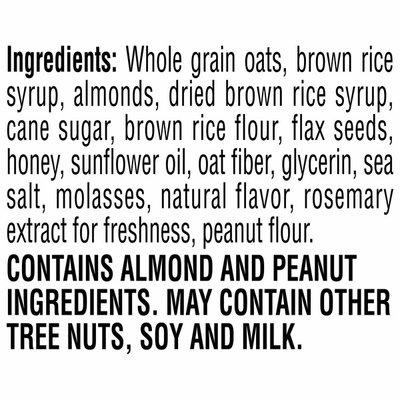 Kellogg's Kashi GO Chewy Granola Bars, Fiber Bars, Vegetarian Snacks, Honey Almond Flax