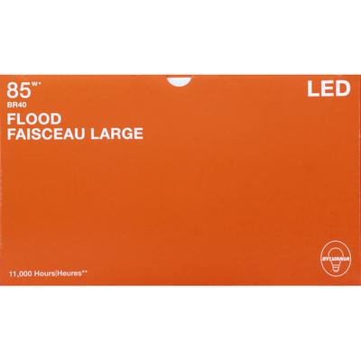 SYLVANIA Light Bulbs, LED, Flood, Soft White, 13 Watts