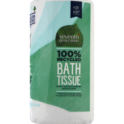 Seventh Generation Bath Tissue, Extra Soft & Strong, 2-Ply