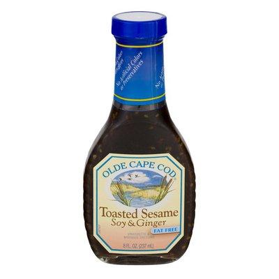 Olde Cape Cod Vinaigrette & Marinade Dressing Toasted Sesame Soy & Ginger Fat Free