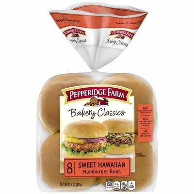 Pepperidge Farm®  Bakery Classics Sweet Hawaiian Hamburger Buns