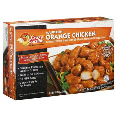 Crazy Cuizine Mandarin Orange Chicken