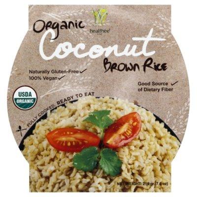 Healthee Organic Coconut Brown Rice