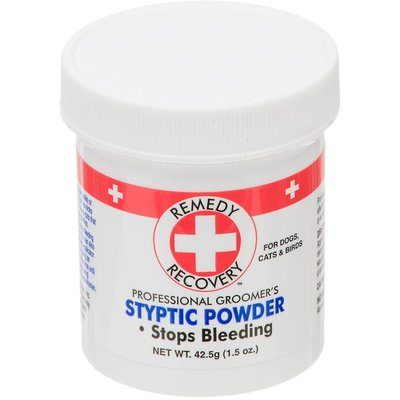 Remedy + Recovery Styptic Powder, Professional Groomer's, For Dogs, Cats & Birds