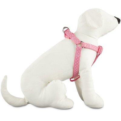 Good 2 Go Large Pink Polka Dot Step-In Dog Harness