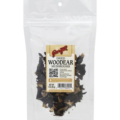 Giorgio Mushrooms, Woodear, Dried