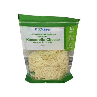Fit & Active 2% Shredded Mozzarella Cheese