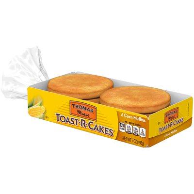 Thomas' Toast-R-Cakes Corn Muffins