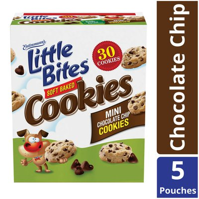 Entenmann's Little Bites Soft Baked Mini Chocolate Chip Cookies