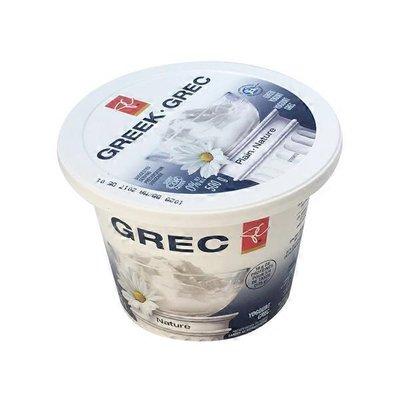 President's Choice Plain Greek Yogurt