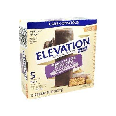 Elevation by Millville Peanut Butter Fudge Crisp Breaktime Bars