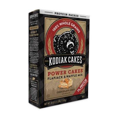 Kodiak Cakes Power Cakes, Chocolate Chip Flapjack & Waffle Mix