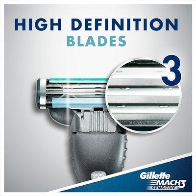 Gillette Sensitive Men'S Disposable Razors