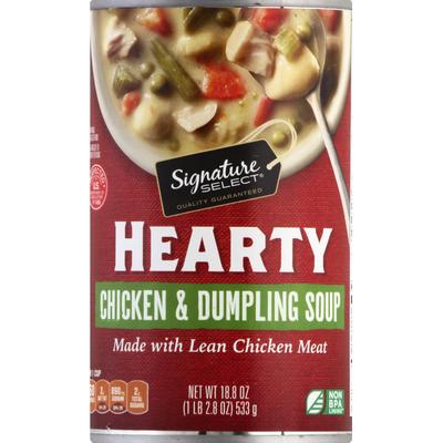 Signature Select Chicken & Dumpling Soup, Hearty