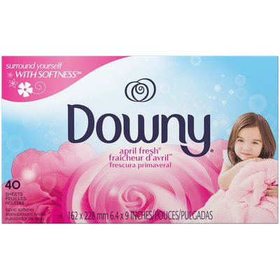 Downy April Fresh Dryer Sheets Fabric Softener