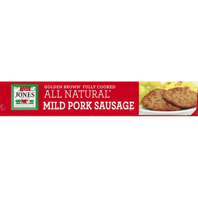 Jones Dairy Farm All Natural Sausage Fully Cooked