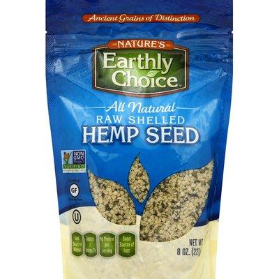 Nature's Earthly Choice Hemp Seed, Raw, Shelled