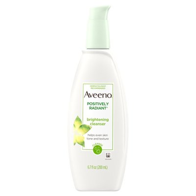 Aveeno® Positively Radiant Brightening Cleanser