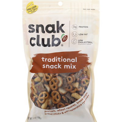 Snak Club Snack Mix, Traditional