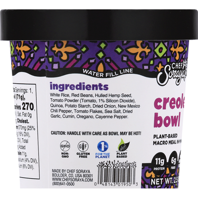 Chef Soraya Creole Bowl
