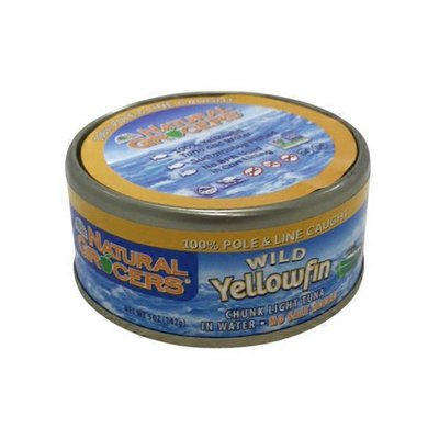 Natural Grocers Light Wild Yellowfin In Water
