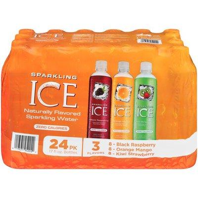 Sparkling Ice Cherry Limeade/Strawberry Watermelon/Peach Nectarine Sparkling Water