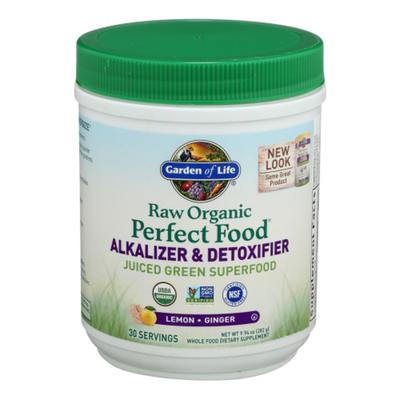 Garden of Life Alkalizer & Detoxifier, Lemon-Ginger