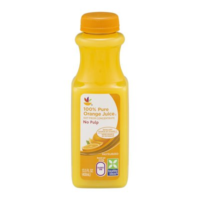 SB 100% Pure Orange Juice  No Pulp