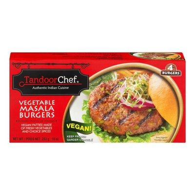 Tandoor Chef Vegan Burgers Vegetable Masala - 4 CT