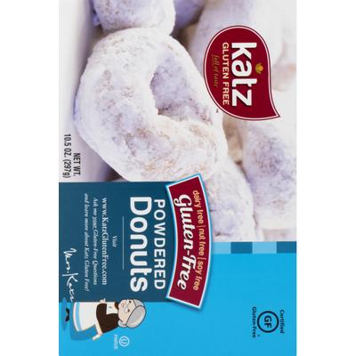Katz Gluten Free Donuts Powdered