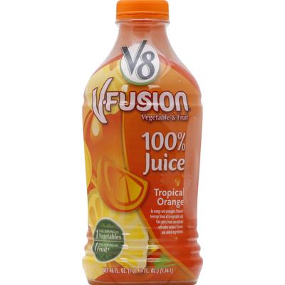V8 100% Juice, Tropical Orange