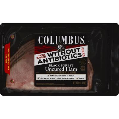 Columbus Black Forest Uncured ham