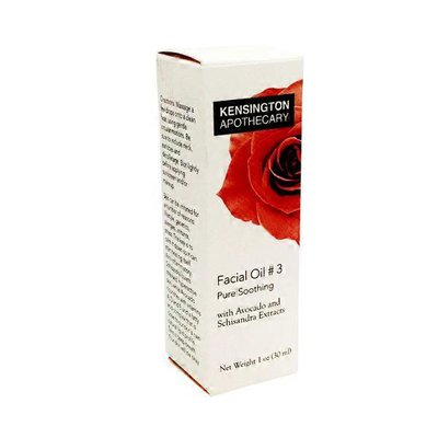 Kensington Apothecary Pure Smoothing Facial Oil With Avocado And Schisandra Extracts