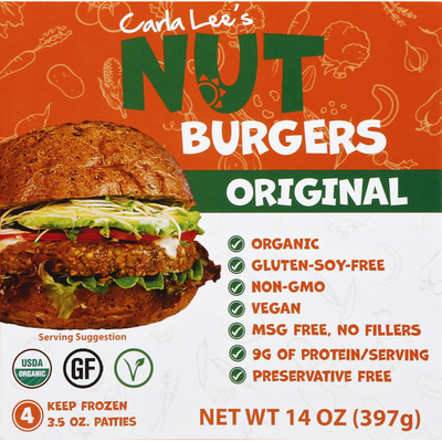 Cara Lee's Cara Lee's Nut Burgers Original