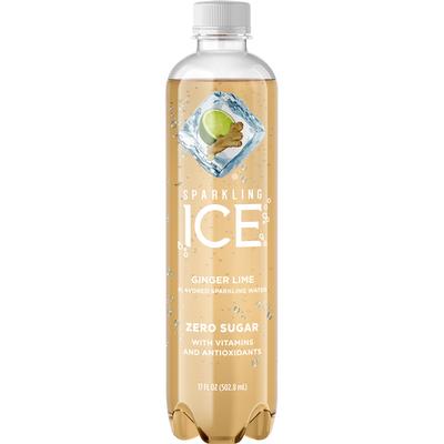 Sparkling Ice Sparkling Water, Zero Sugar, Ginger Lime