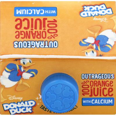 Disney 100% Juice, with Calcium, Donald Duck