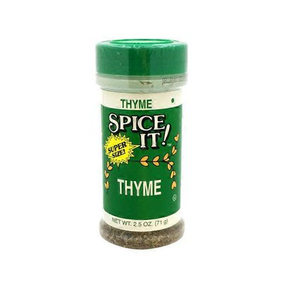Spice It Thyme