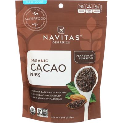 Navitas Organics Cacao Nibs, Organic