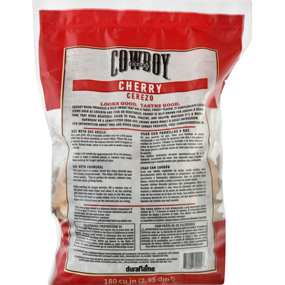 Cowboy Cherry Wood Chips, 180 cu in