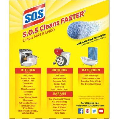 SOS Reusable Soap Filled Steel Wool Pads