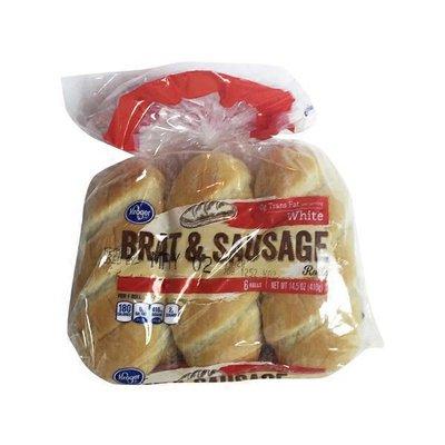 Kroger Brat And Sausage Rolls, 6 Pack