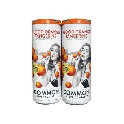 Common Cider Blood Orange Tangerine Cider Can