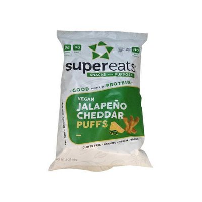 SuperEats Jalapeno Cheddar Puffs